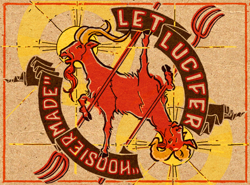"""Let Lucifer"" logo"