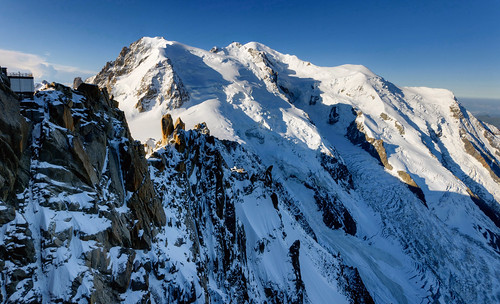 From Chamonix to Courmayer - Aiguille du Midi 09