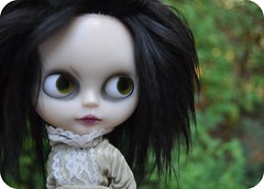 Out in the Brush. (Lawdeda ) Tags: by painted inspired mohair carter blythe helena custom scar lids 87 bonham rbl bellatrix lawdeda