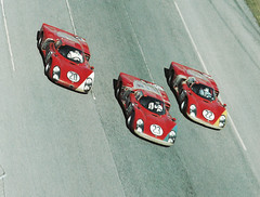 Alfa Romeo factory T33/2s at Daytona 1968 (Nigel Smuckatelli) Tags: auto classic cars race speed vintage classiccar automobile racing prototype passion legends vehicle hours 24 autoracing endurance alfaromeo motorsports fia csi sportscar wsc heures ennstalclassic world sportauto autorevue historic championship louis legends oldtimersport zeccoli histochallenge manufacturers gp motorsports nigel smuckatelli galanos manufacturers t332nino vaccarellamario andretti1967 daytonaudo schutzlucien bianchimario casonigiampiero biscalditeodoro