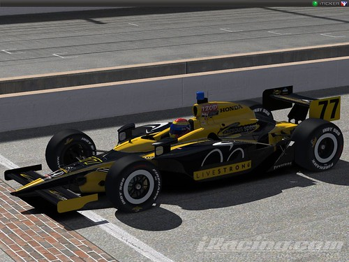 Monica Clara Brand's Dallara IndyCar