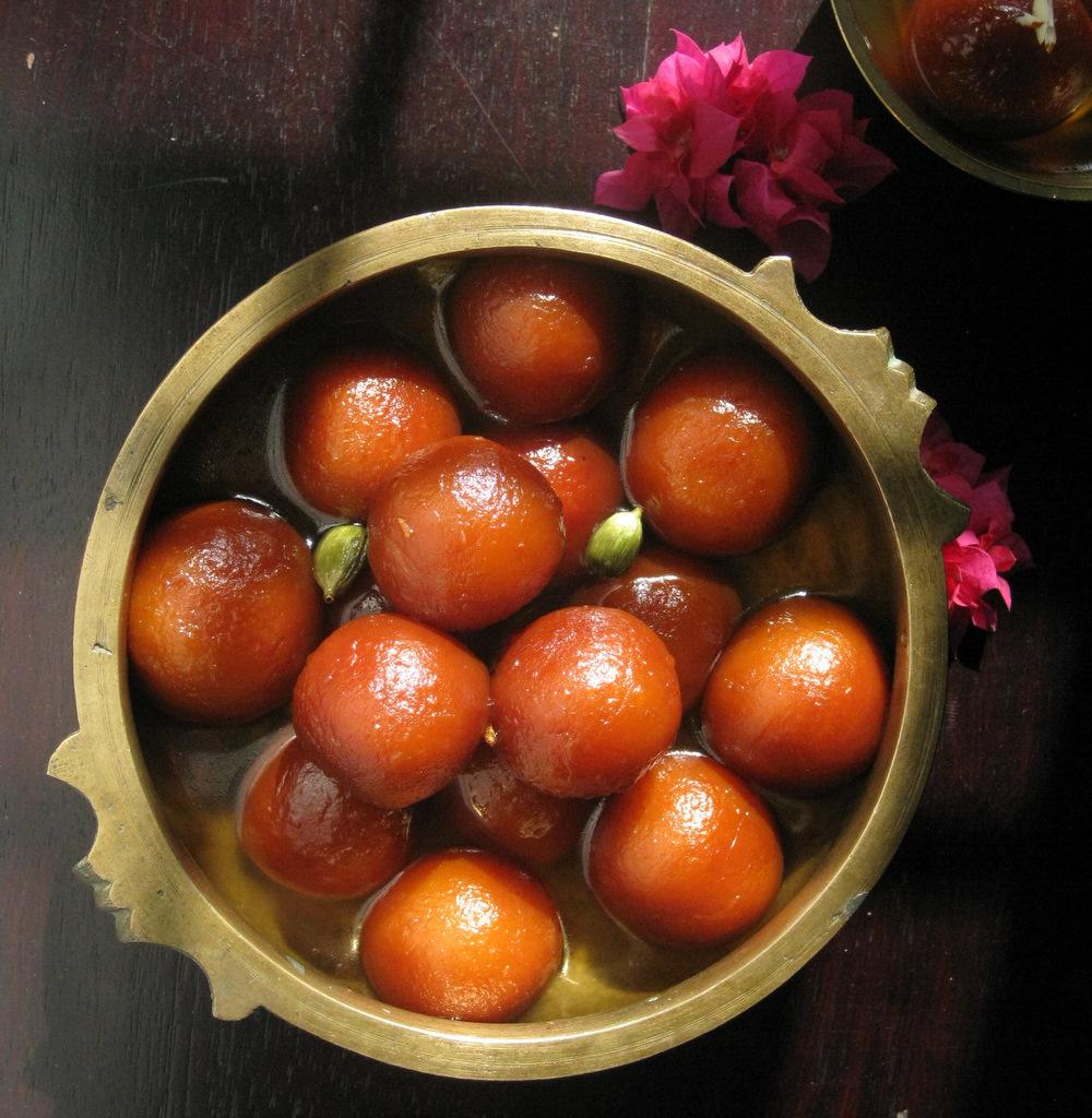 Indian Gulab Jamun Recipe