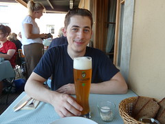 Craig's 1st Beer in Germany