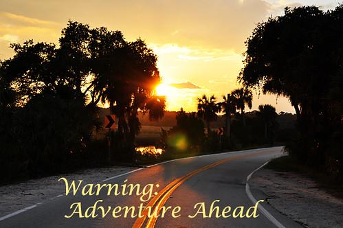 Warning Adventure Ahead