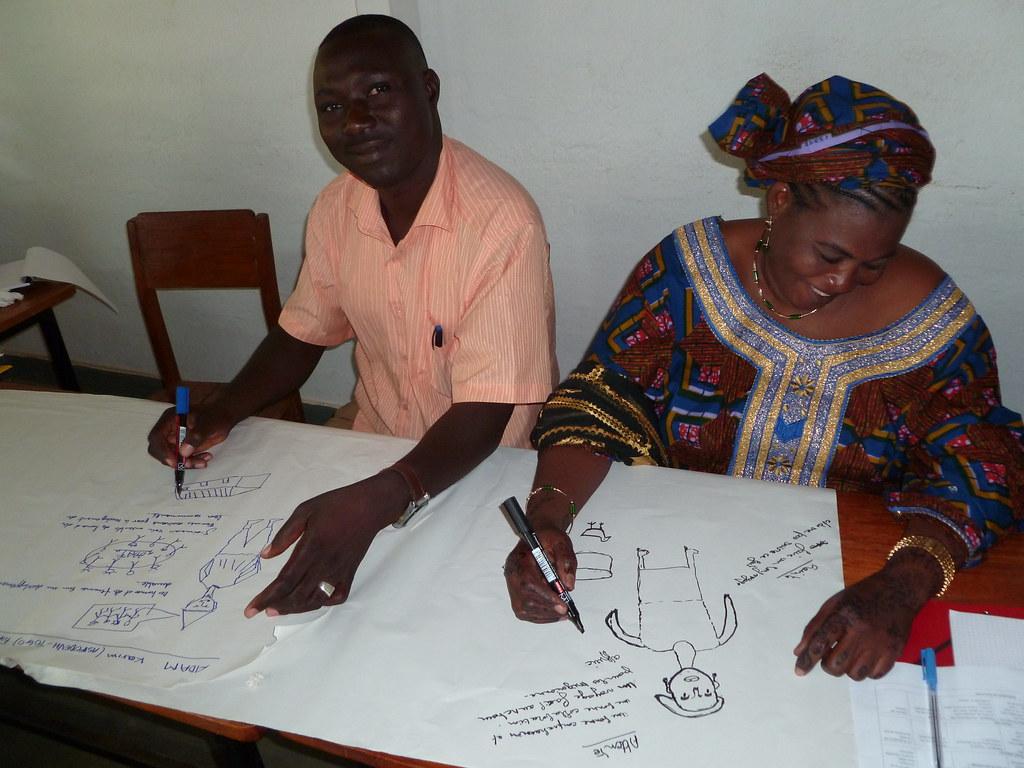 Participants Nigériens - Atelier GENRE Kara Togo