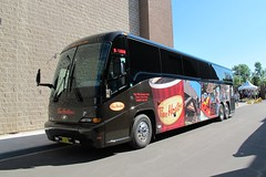 2010 MCI J4500 highway coach, Tim Horton's (JarvisEye) Tags: canada bus coach community newbrunswick moncton service timhortons 2010 mci j4500