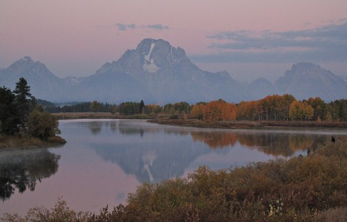 Oxbow Bend Civil Twilight by Mark/MPEG (Midwest Photography Enthusiasts Group)