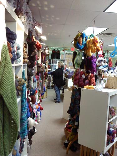 Ithaca: Yarn store