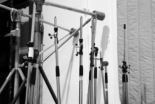 Mic stands, Abbey Road