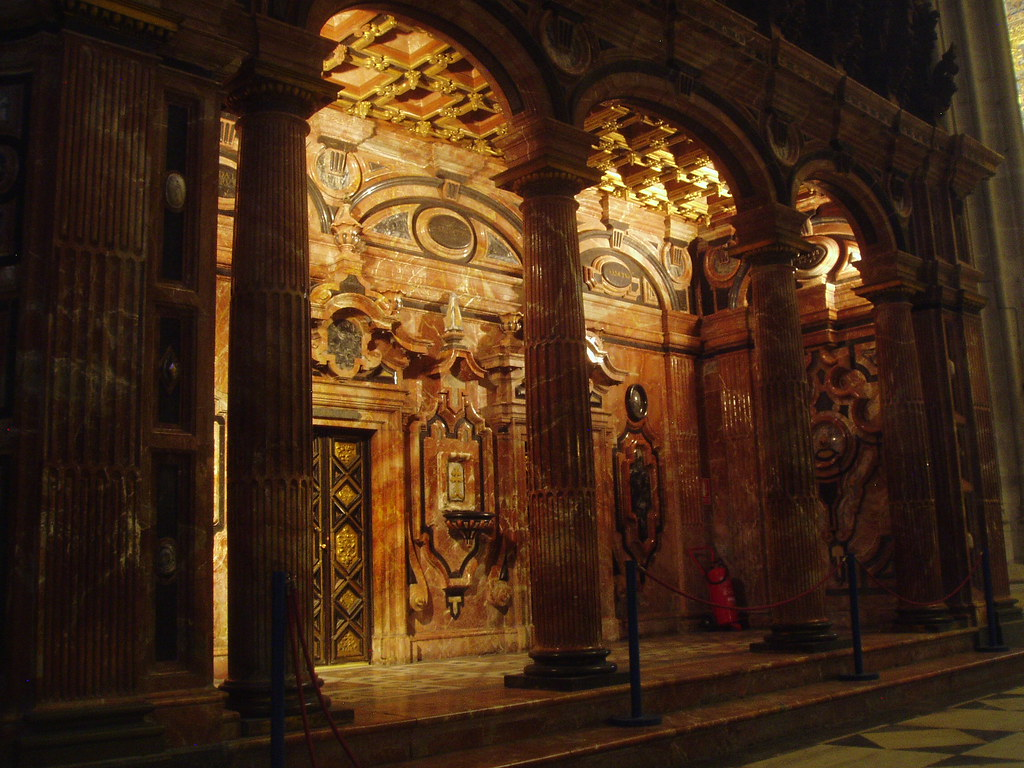 Red Marble Decor, Seville Cathedral