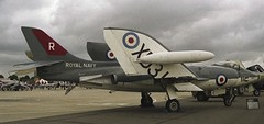Vickers Supermarine Scimitar F1 (Nigel Musgrove-2.5 million views-thank you!) Tags: show air 1988 navy royal f1 112 scimitar vickers supermarine yeovilton rnas xd317