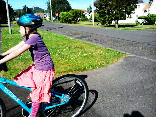 Phoenix & Her New Bike