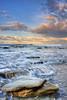 Forgotten Moments (Didenze) Tags: ocean california light sky seascape clouds sunrise canon rocks sanclemente didenze