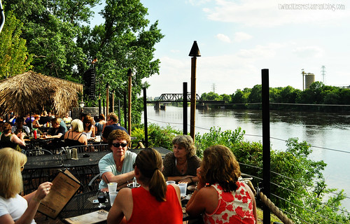 Patio on the River at Psycho Suzi's Motor Lounge ~ Minneapolis, MN