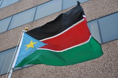 South Sudan flag raising ceremony, Washington DC