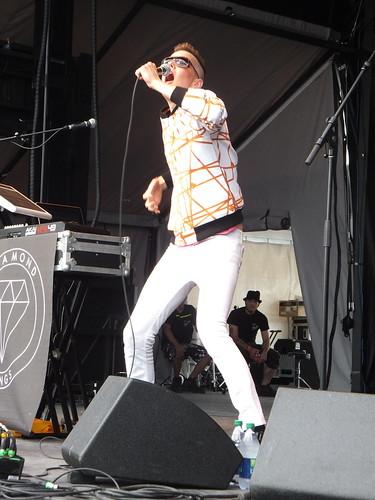Diamond Rings at Ottawa Bluesfest 2011