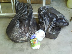 Diaper Bags (Dispose Diapers) Tags: truck garbage diaper diapers stinky pail dispose