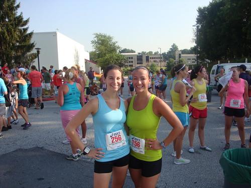 5K finish