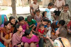 Audrey Practices Baby Diplomacy in Garo Village - Srimongal, Bangladesh (uncorneredmarket) Tags: people baby kids children bangladesh villagevisit indigenous dpn srimongal garo garovillage garovillagevisit