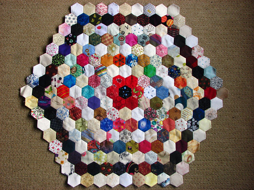 8 rings of hexies