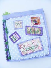 *Book nascita* (Creare Creando) Tags: book libro feltro colori ricordi nascita stoffe bottoni nastri pizzi