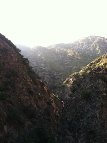 Beautiful hike today with friends. Rock climbing, repelling and waterfalls. :)