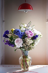 birthday flowers (Nachosan) Tags: flowers roses lumix bouquet peonies gf1