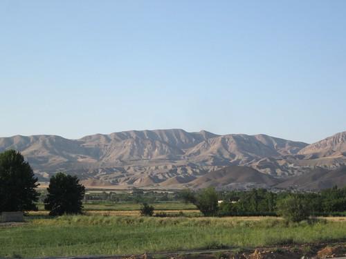 Scenery to Mashhad.