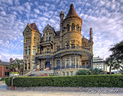 Bishop's Palace (Ellen Yeates) Tags: ocean old walter summer vacation house galveston building castle beach water austin ellen fishing texas tour clayton broadway victorian nicholas architect architects colonel gresham bishop hdr yeates ellenyeatesphotography