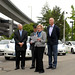 Mayor Mike McGinn introduces addition of electric vehicles to city fleet