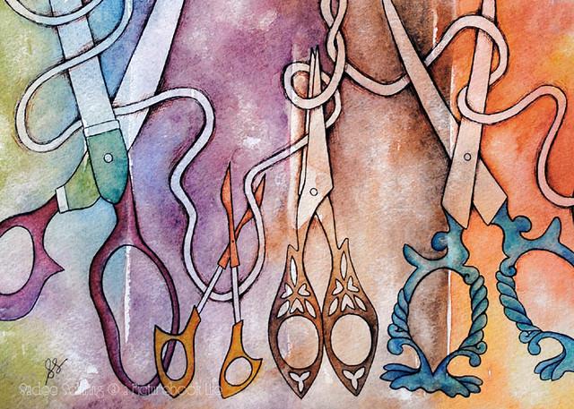 scissors detail