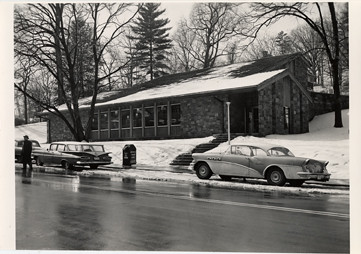 Snow on Cherrydale Branch Library, 1961-1962