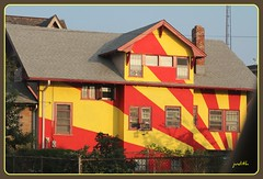 the sunshine house (Judecat (settling in for winter)) Tags: house newjersey brightcolors wildwood paintedsun