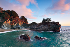 More Like Magic Minute, McWay Falls, Big Sur (Jared Ropelato) Tags: 1635mm 2010 5dmkii outdoor adventure beach beautiful boulders cablerelease california canon cliffs clouds crash creek crick filter giotto greenlush highway1 hike illuminate illumination jaredropelato lake laketahoe landscape lansdscape leaf leaves lights longexposure manfrotto mom nature ocean pacific pacificocean pfifferburns rocks ropelatophotography rugged scene scenic shrubs singhray site sky spring trail travel tree trip tripod vacation visit waterrocks waterfall wave waves wild wilderness