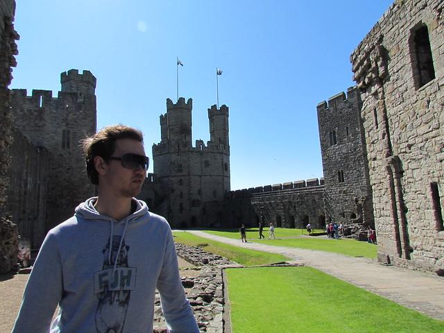 caernarfon castle moonpie