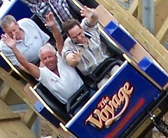 Steve and Will on Voyage