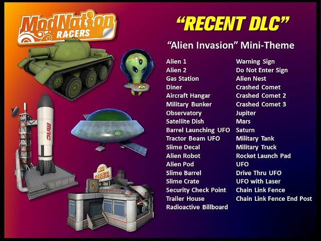 ModNation Racers: alien