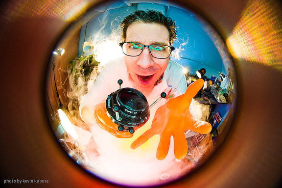 Craig Strong Fisheye Photo
