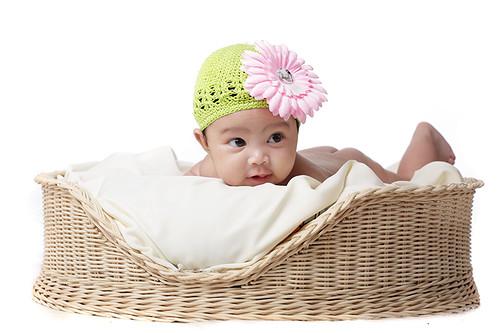 Nik Zaheera Aliaa, 3 months.