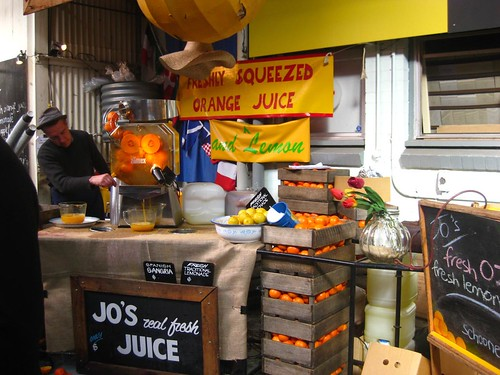 Jo's Juice at the Old Bus Depot Markets