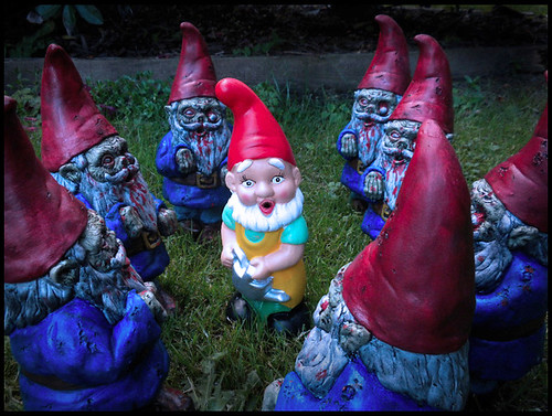 Attack of The Zombie Garden Gnomes