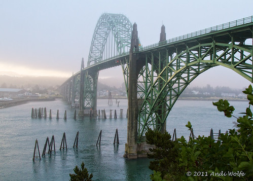 Newport Bridge by andiwolfe (back from travels, need to catch up)