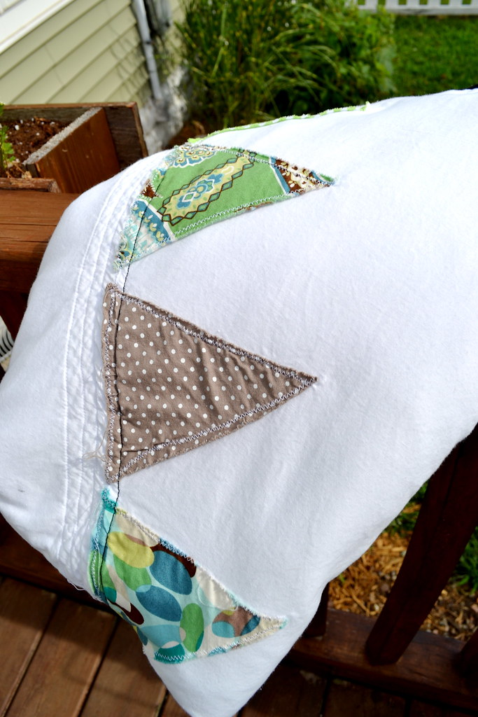 A Pennant Baby Quilt Newlywoodwards