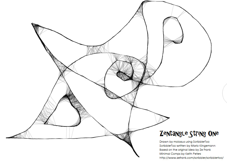 Zentangle String One