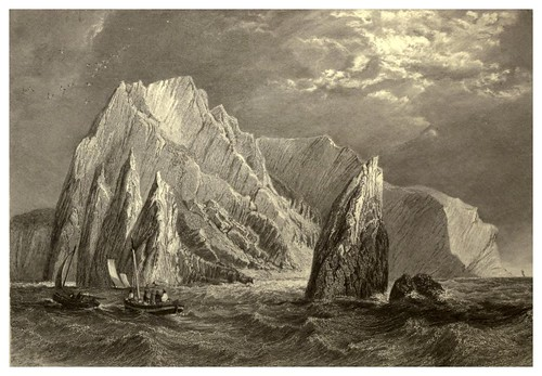 006-El Needle- Isla de wight-Stanfield's coast scenery…1836- Clarkson Stanfield