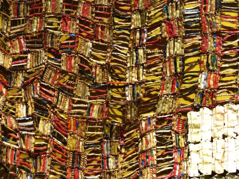 El Anatsui recycled wall art 5