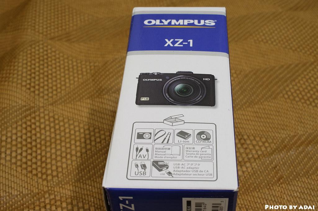 2011.7.19 Olympus XZ-1 unboxing