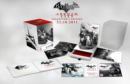 Batman Arkham City Collector's Edition Has Batman Statue