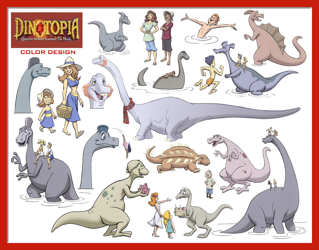 dinotopia coloring pages - photo#6