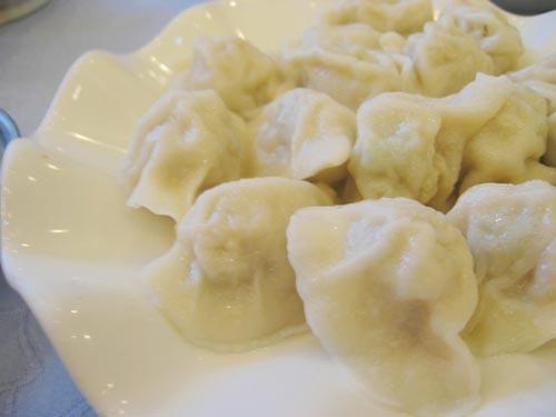 Dumplings from Old Bians' Dumpling Restaurant, Shenyang, China